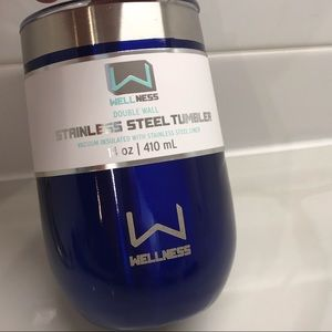 WELLNESS DOUBLE WALL INSULATED TUMBLER NEW